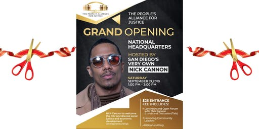 Nick Cannon Empowerment Lunch in San Diego