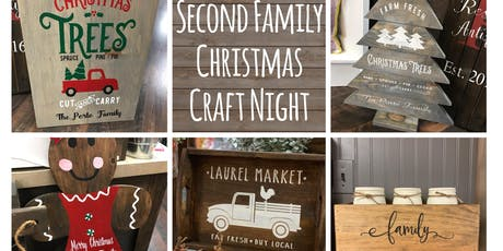 Second Family Christmas Craft Night tickets