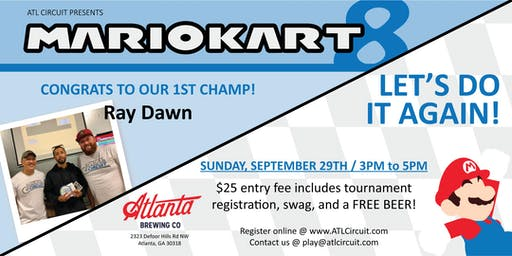 Mario Kart 8 Deluxe Tournament-September 29th