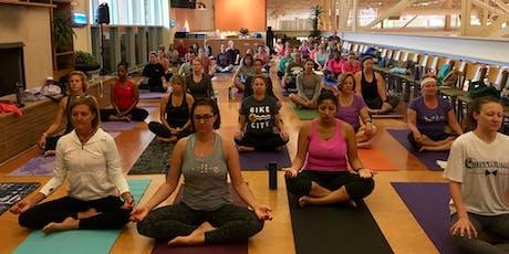 Free Morning Yoga at Schnucks Des Peres  tickets