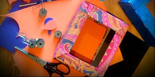 Magnetic Levitation Boxes: Art & Science children workshop