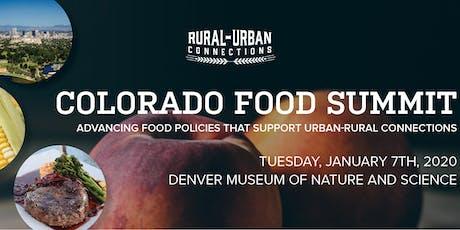 Colorado Food Summit tickets