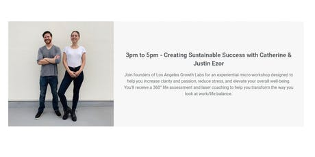Creating Sustainable Success with Catherine & Justin Ezor tickets