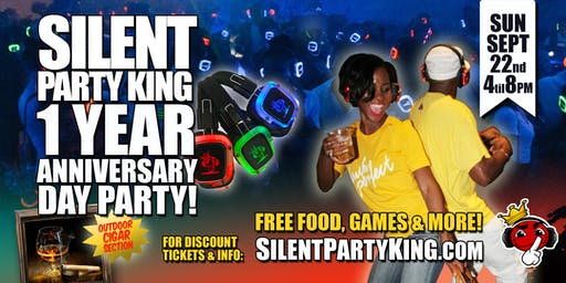 Silent Party Day Party