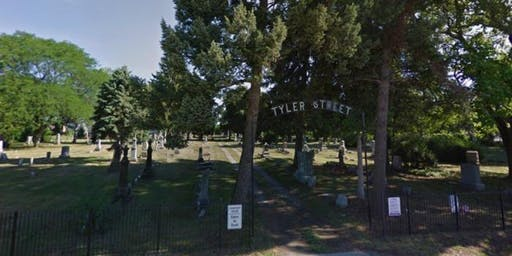 Cemetery History Tour featuring Tyler Cemetery