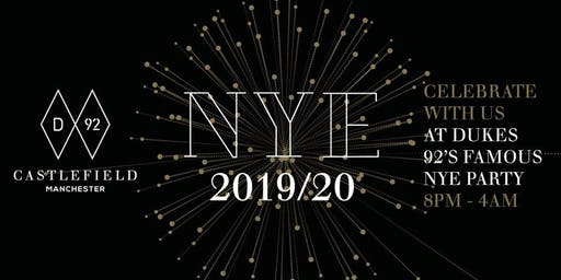 Dukes 92 NYE 2019/20