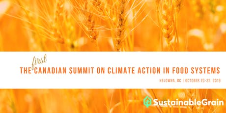 The First Canadian Summit on Climate Action in Food Systems tickets