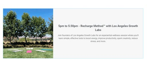 Recharge Method™ with Los Angeles Growth Labs