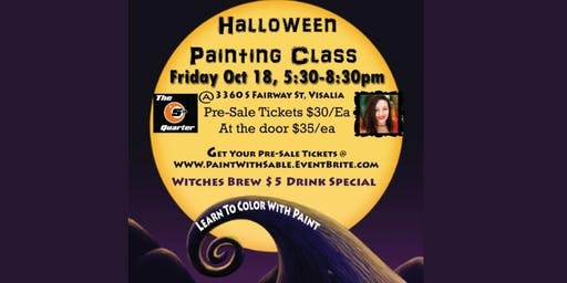 Halloween Painting Class