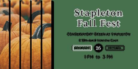 Stapleton Fall Fest tickets