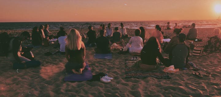 Energy Vortex on Venice Beach with Kundalini, Reiki and