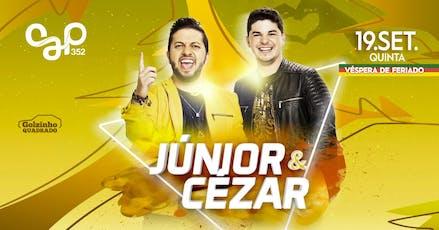 Júnior & Cézar - (Vésp.Feriado) - Cap 352 ingressos