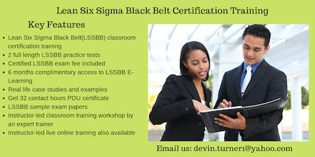 LSSBB Training in Tupelo, MS tickets