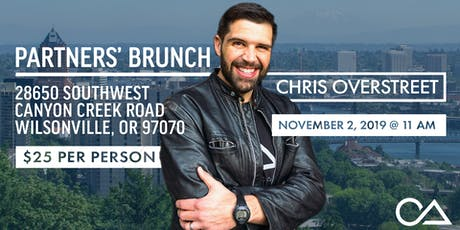 Compassion To Action: Partners' Brunch with Chris Overstreet tickets