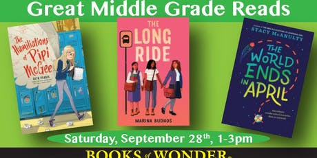 Great Middle Grade Reads! tickets