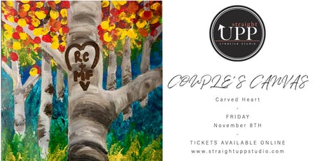 COUPLE'S CANVAS | Carved Heart tickets