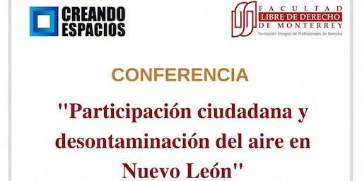 Participación Ciudadana y Descontaminación del aire en Nuevo León