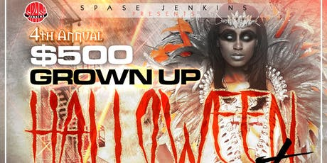 $500 Grown Up Halloween Party tickets