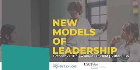 New Models of Leadership tickets