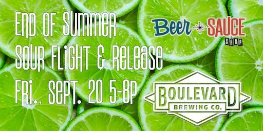 Boulevard End of Summer Sour Flight & Release
