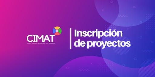 Feria CIMAT 2019 - Inscripción de proyectos