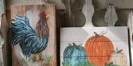 That Chicken Place Paints & Pallets