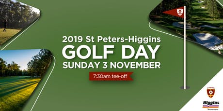 2019 St Peters-Higgins Golf Day tickets