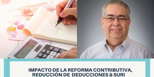 Reforma contributiva  y su impacto a los negocios y servicios profesionales