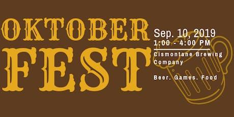 4th Annual Oktoberfest Games tickets