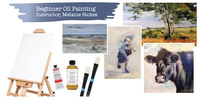 Beginner Oil Painting Series - Instructor, Melanie Stokes