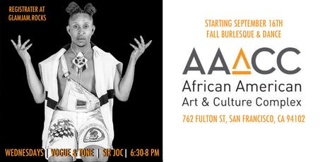 Vogue & Tone with Sir Joc :: Fall Burlesque & Dance at AAACC tickets