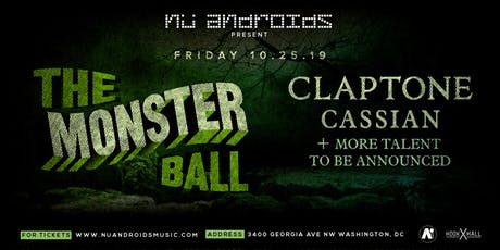 The Monster Ball feat. Claptone, Cassian & More TBA at A.i. (21+) tickets