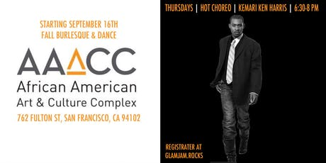 Kemari Ken Harris Hot Choreo :: Fall Burlesque & Dance at AAACC tickets