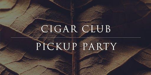 Cigar Club Fall Pickup Party