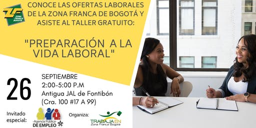 """TALLER """"PREPARACIÓN  A LA VIDA LABORAL"""""""
