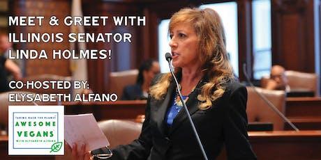 Meet & Greet with Senator Linda Holmes tickets