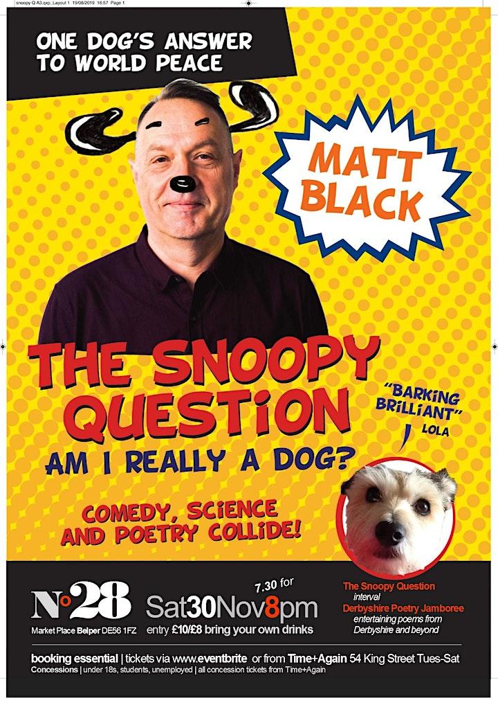 The Snoopy Question: Matt Black image