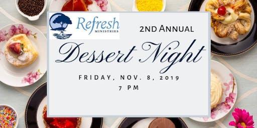 2nd Annual Dessert Night