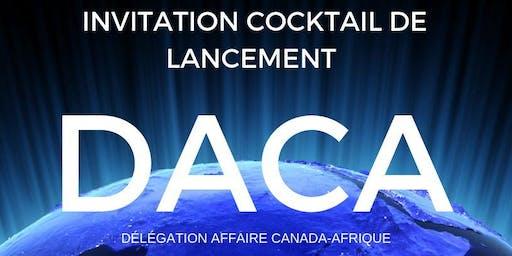 Lancement de DACA, Délégation Affaire Afrique Canada