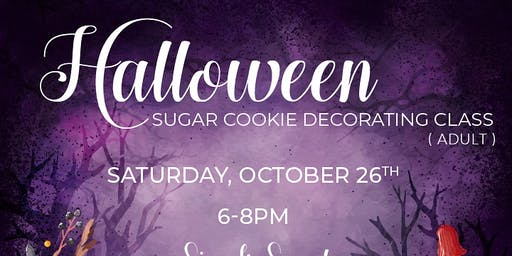 Let's Get Spooky Adult Cookie Decorating Class