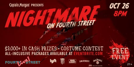 Nightmare On Fourth Street Halloween Party tickets
