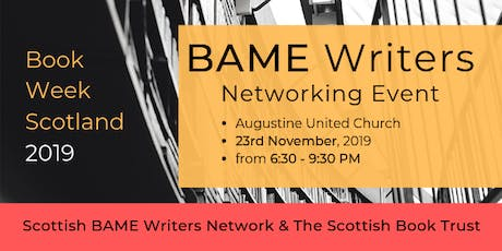 BAME Writers Networking Event (Book Week Scotland) tickets