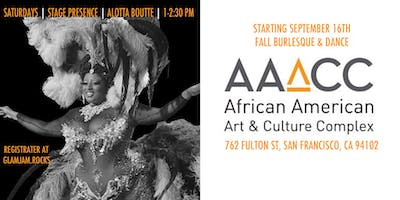 Alotta Boutté Stage Presence :: Fall Burlesque & Dance at AAACC
