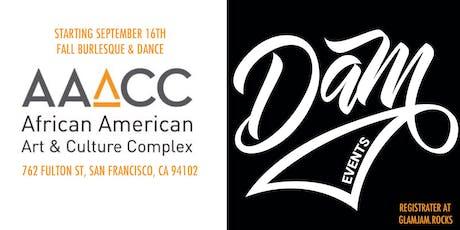 DAM Events Choreo Remix :: Fall Burlesque & Dance at AAACC tickets