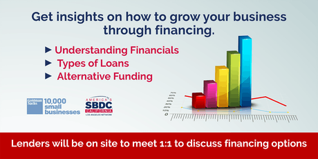 Financing For Your Business Growth Expo tickets
