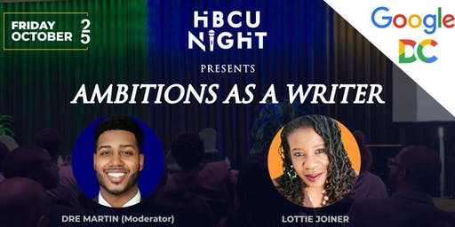 HBCU Night at Google-DC