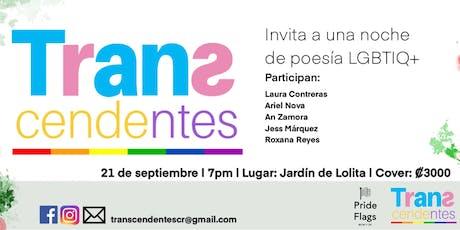 Transcendentes Invita a Noche de Poesía LGBTI entradas