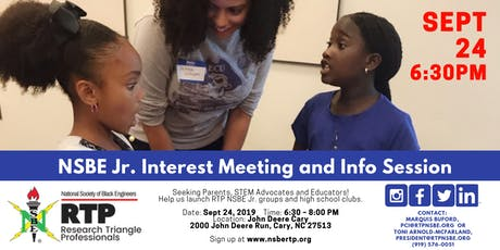 NSBE Jr. Interest Meeting and Info Session tickets