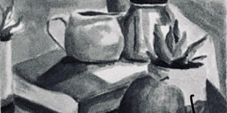 Black n' White Drawing and Ink Wash- 4 wk October Series w/Geraldine Butler tickets