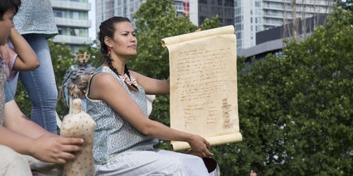 Talking Treaties with  Ange Loft and Jumblies Theatre: Text and Sound